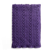Go to Product: Caron Cables and Lace Baby Blanket in color