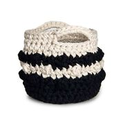 Go to Product: Bernat Bobble Stripe Crochet Basket in color