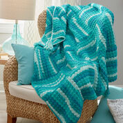 Go to Product: Red Heart Wavy Squares Throw in color