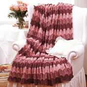 Go to Product: Bernat Pink Afghan to Knit in color