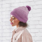 Red Heart Knit Ombre Hat, S