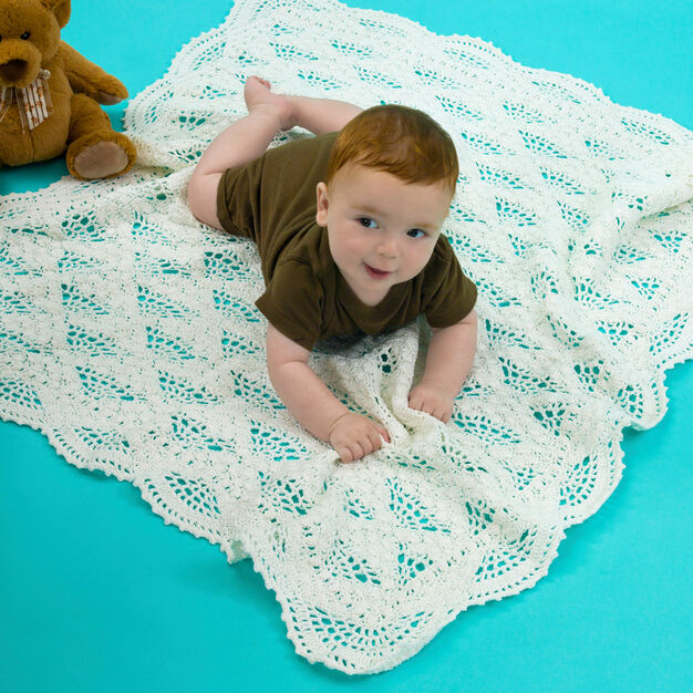 Aunt Lydia's Special Baby Blanket in color