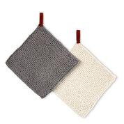 Lily Sugar'n Cream Get Looped Knit Dishcloth