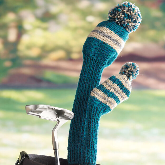 Red Heart Golf Club Covers Yarnspirations