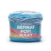 Go to Product: Bernat Pop! Bulky Yarn, Bluebird of Happiness - Clearance Shades* in color Bluebird of Happiness