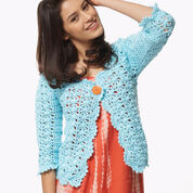 Bernat On the Lace Cardigan, XS