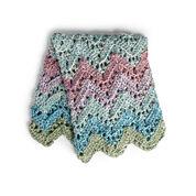 Bernat Peaks & Valleys Crochet Blanket