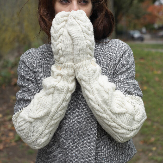Patons Armwarmers & Mittens, S