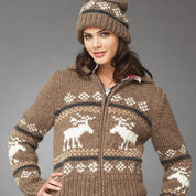 Bernat Reindeer Games Set, Hat