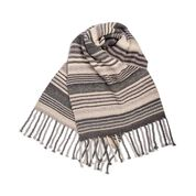 Go to Product: Bernat Pearl Stripes Knit Scarf in color