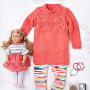 Red Heart Child's Heart Yoke Tunic, 2 yrs