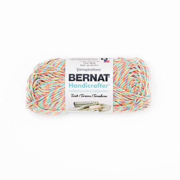 Bernat Handicrafter Cotton Twists Yarn Candy Sprinkle Twists