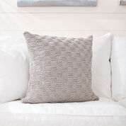 Bernat Beachside Knit Pillow