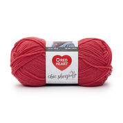 Red Heart Chic Sheep Yarn by Marly Bird, Sunset