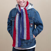 Go to Product: Red Heart School Stripes Scarf in color