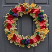 Red Heart Fabulous Fall Wreath
