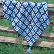 Bernat Granny Square Throw