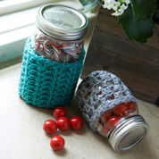 Go to Product: Red Heart Crochet Jar Cozies, S in color