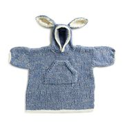 Go to Product: Bernat Funny Bunny Kids Knit Blanket Hoodie , 6/8 yrs in color
