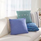 Red Heart Beach House Knit Pillows, Seafoam Pillow