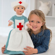 Go to Product: Red Heart Caring Nurse Doll to Knit in color