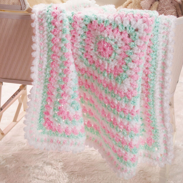 Red Heart Baby's First Blanket