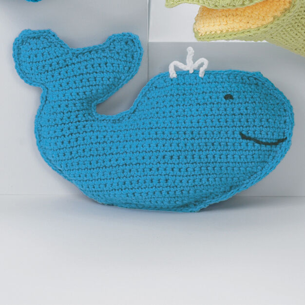 Lily Sugar'n Cream Baby's Friendly Whale in color