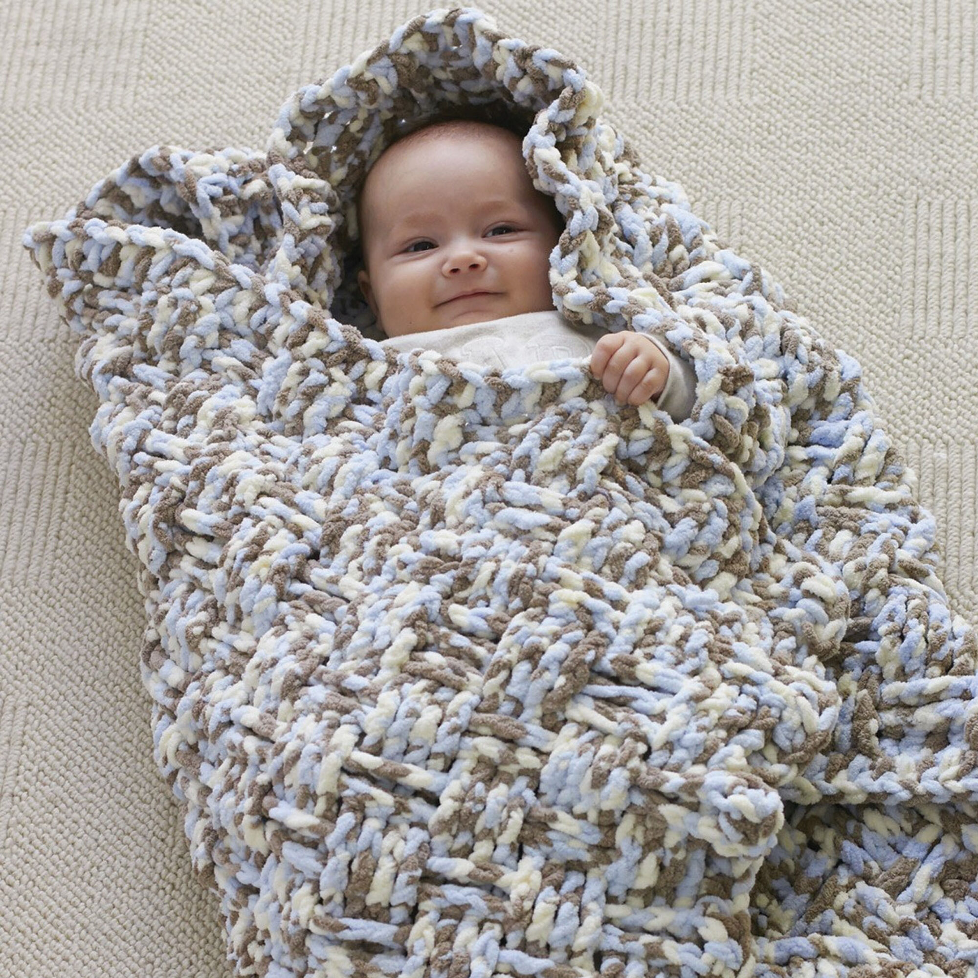 Bernat Dream Weaver Blanket Pattern | Yarnspirations
