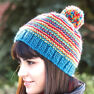 Patons Bright Stripes Beanie