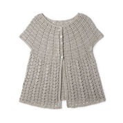 Go to Product: Patons Crochet Cap Sleeve Cardigan, XS/S in color