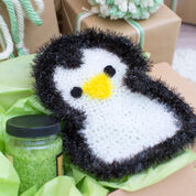 Red Heart Precious Penguin Scrubby