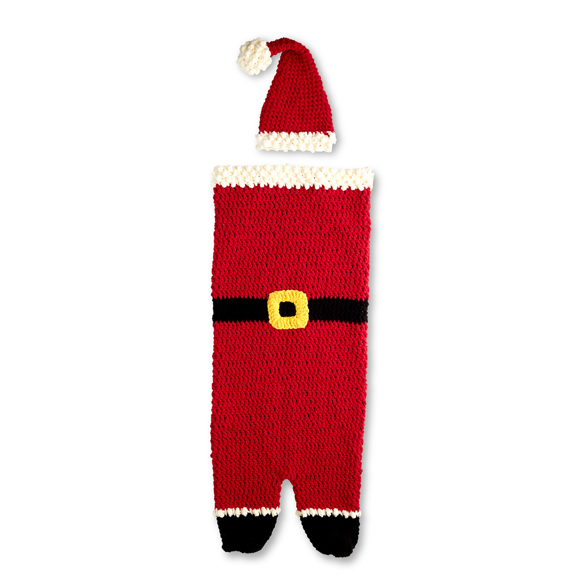 Bernat Dear Santa Crochet Snuggle Sack | Yarnspirations