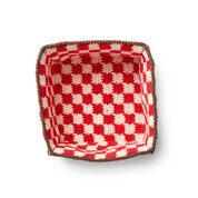 Lily Sugar'n Cream Crochet Pic-A-Nic Basket