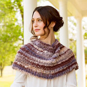 Red Heart Spiced Up Shoulder Cozy, S