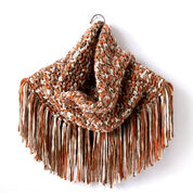Go to Product: Bernat Fringy Crochet Cowl in color