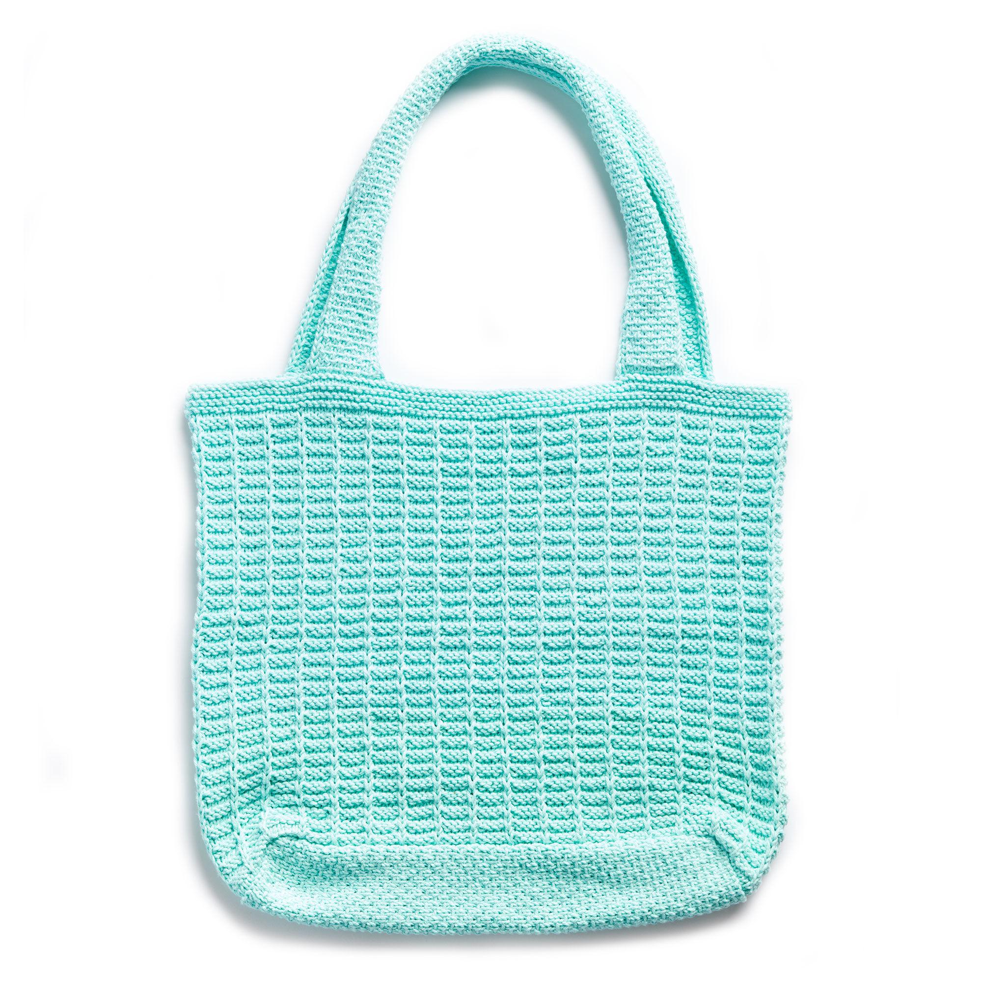 Lily Sugar\'n Cream Knit Market Tote | Yarnspirations