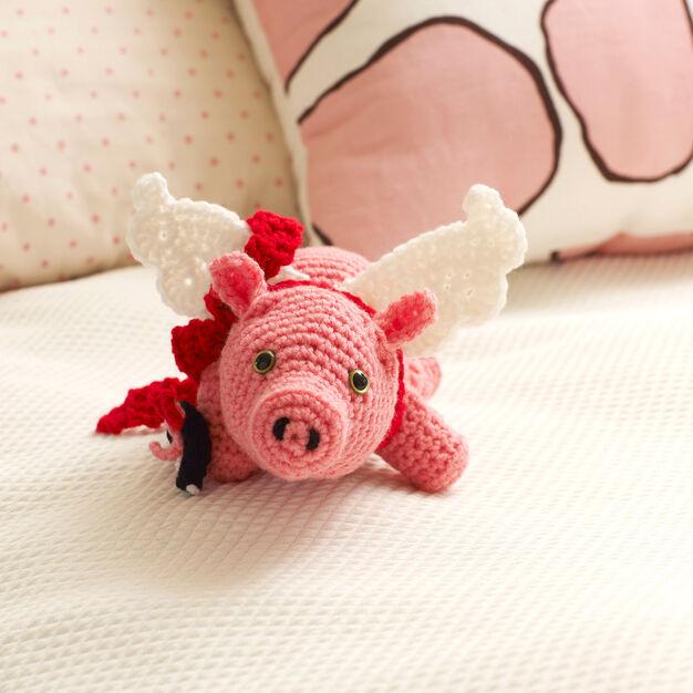 Red Heart Cu-Pig