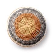 Caron Crochet Pouf