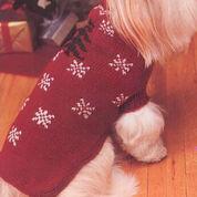 Patons Festive Dog Coat, Decor - Size 1