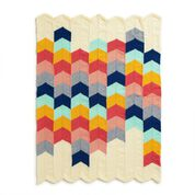 Go to Product: Bernat Chevron Panel Knit Baby Blanket in color