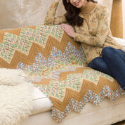 Go to Product: Red Heart Wavy Ripple Throw in color