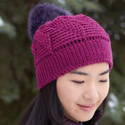 Patons Twist 'n Shout Slouchy Hat