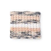 Lily Sugar'n Cream Scrubbing Stripes Knit Dishcloth