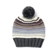 Go to Product: Caron x Pantone Garter Stitch Knit Hat in color