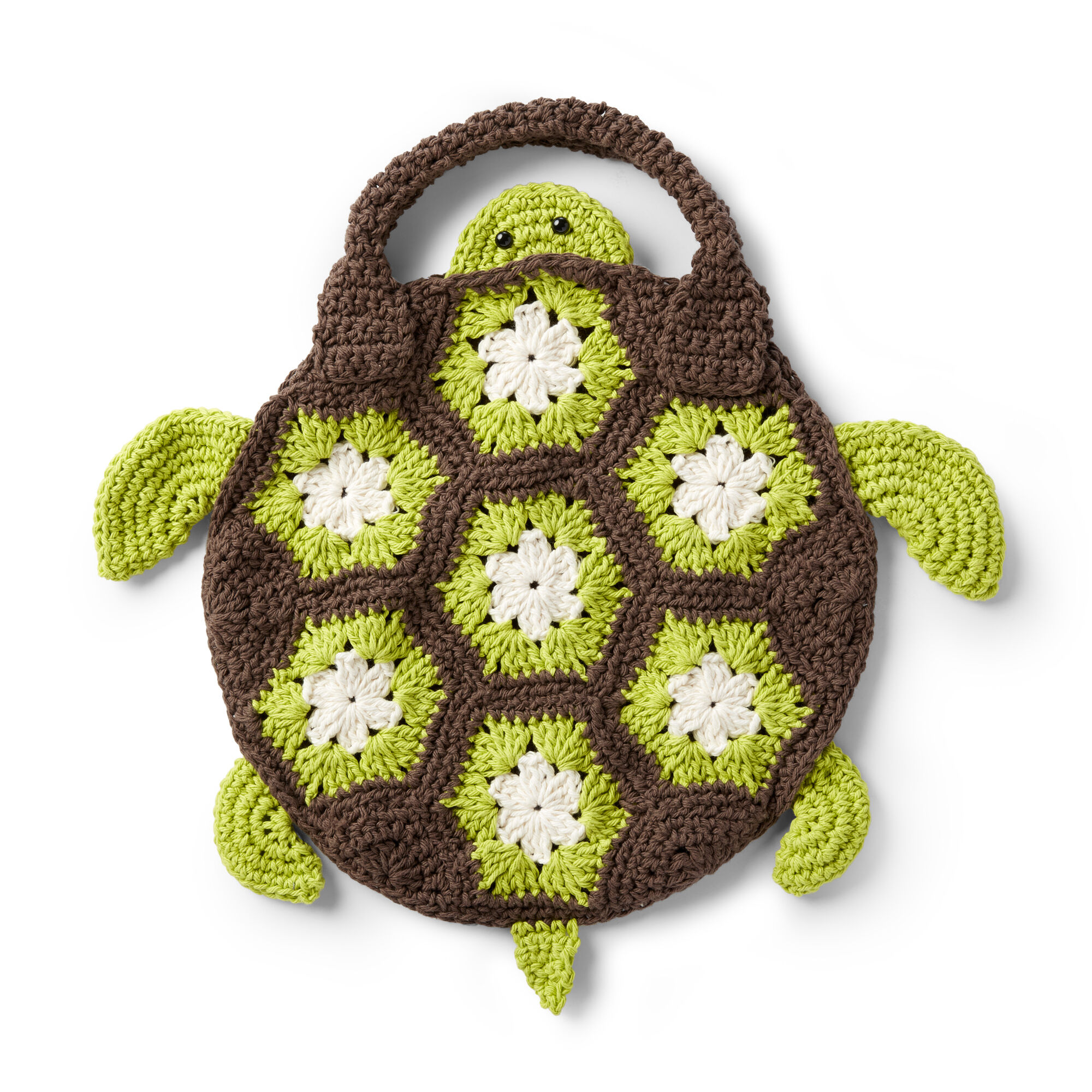 Lily Sugar'n Cream Crochet Sea Turtle Tote Bag Pattern