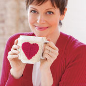 Red Heart Valentine Mug Hug