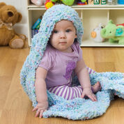 Go to Product: Red Heart Hooded Baby Blanket in color