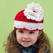 Red Heart Big Bloom Hat, Baby