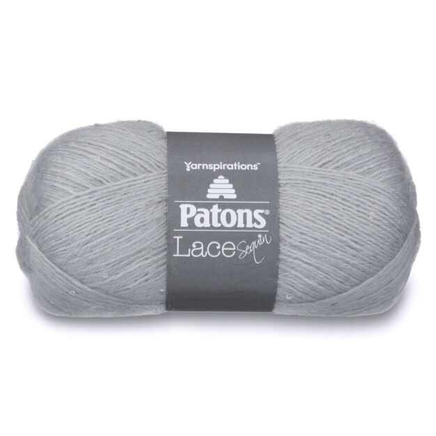 Patons Lace Sequin Yarn, Moonstone - Clearance Shades* in color Moonstone