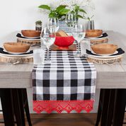 Go to Product: Aunt Lydia's Runner with Red Lace Edging in color